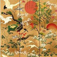 MINDTHEGAP Byobu Wallpaper Mural, WP20343