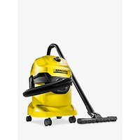 Karcher WD 4 Wet and Dry Vacuum Cleaner 240v