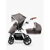 Silver Cross Wave Pushchair and Carrycot, Sable