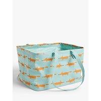 Scion Mr.Fox Laundry Bag, Blue / Orange