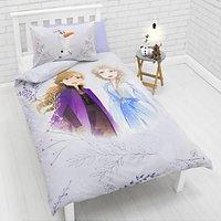 Disney Frozen 2 Reversible Duvet Cover and Pillowcase Set, Single, Multi