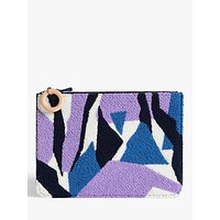 shop for John Lewis & Partners Makalu Textured Pouch Bag at Shopo