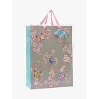 John Lewis & Partners Butterfly Blossom Gift Bag