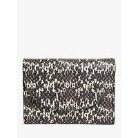 shop for John Lewis & Partners Ara Leather Medium Purse, Mono at Shopo