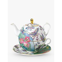 Wedgwood Cuckoo and Butterfly Bloom Tea-For-One Teapot, 940ml, Multi