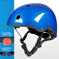 Micro Scooter Medium Safety Helmet, Metallic Blue