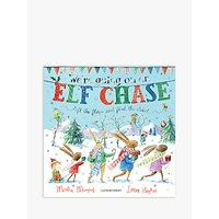 We're Going On An Elf Chase Children's Book