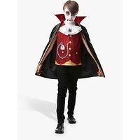 Vampire Boy Children's Costume, 3-4 years.