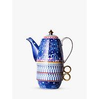 T2 Eleganza Teapot For Two, 420ml, Cobalt