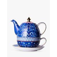 T2 Eleganza Teapot For One, 520ml, Cobalt