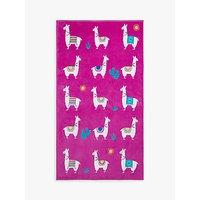 image-John Lewis & Partners Llama Print Beach Towel
