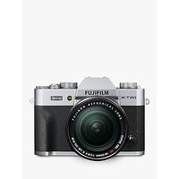 "Fujifilm X-T20 Compact System Camera with XF 18-55mm OIS Lens, 4K Ultra HD, 24.3MP, Wi-Fi, OLED EVF, 3"" Tiltable LCD Touch Screen"