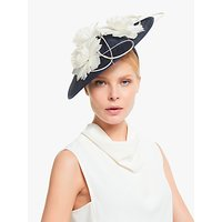 John Lewis and Partners Serafina Flower Detail Wide Disc Occasion Hat