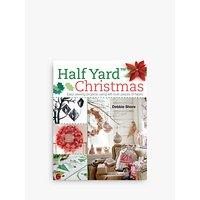 Search Press Half Yard Christmas and Sew Advent Calendars Book Bundle