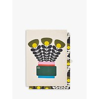 Orla Kiely Bunch Of Stems Tea Towels, Set of 2, Multi