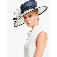 John Lewis and Partners Lauren Loop Wide Brim Occasion Hat