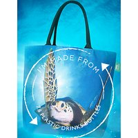 shop for BBC Earth Recycled Plastic Turtle Shopper Tote Bag at Shopo