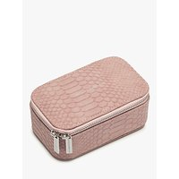 shop for Estella Bartlett Snake Texture Jewellery Box, Blush at Shopo