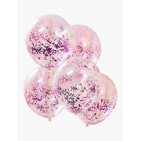 Ginger Ray Confetti Filled Balloons, Pack of 5