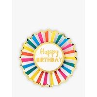 Talking Tables Happy Birthday Badge