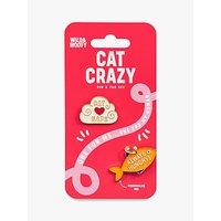 Wild & Woofy Cat Pin & Tag Set