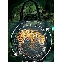 shop for BBC Earth Recycled Plastic Jaguar Shopper Tote Bag at Shopo