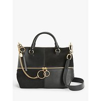 See By Chloé Emy Patchwork Suede Leather Satchel Bag