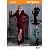 Simplicity Women's Costume Femme Fatale Sewing Pattern, 8973