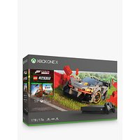'Microsoft Xbox One X Console, 1tb, With Wireless Controller And Forza Horizon 4 Lego Speed Champions Bundle