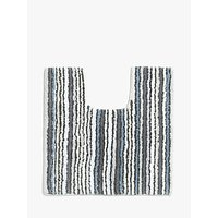 John Lewis and Partners Stripe Reversible Pedestal Mat