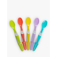 Vital Baby Nourish Start Weaning Spoons, Set of 5