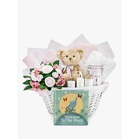 Babyblooms Welcome to the World Hamper, Light Pink