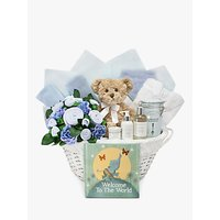 Babyblooms Welcome to the World Hamper, Light Blue