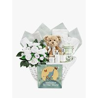 Babyblooms Welcome to the World Hamper, White