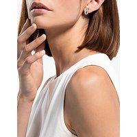 shop for Swarovski Infinity Crystal Stud Earrings, Silver at Shopo