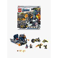 LEGO Marvel Avengers 76143 Truck Take-down