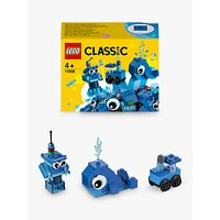 LEGO Classic 11006 Creative Blue Bricks Starter Set