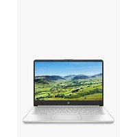 HP 14s-dq0019na Laptop, Intel Core i3 Processor, 8GB RAM, 128GB SSD, 14 Full HD, Natural Silver