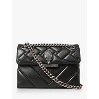 Kurt Geiger London Kensington Mini Cross Body Handbag, Black