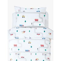 Great Little Trading Co On The Road Duvet Cover and Pillowcase Set, Single, Multi