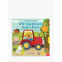 Old Macdonald had a Farm Sing-Along Childrens Book