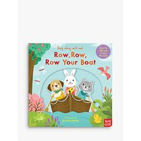 Row Row Row Your Boat Sing-Along Childrens Book