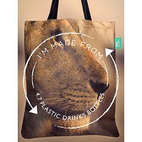 shop for BBC Earth Recycled Plastic Lion Tote Bag at Shopo
