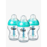 Tommee Tippee Advanced Anti-Colic Bottles, Pack of 3, 260ml