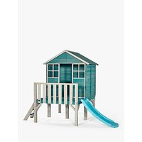 Plum Wooden Boat House and Slide