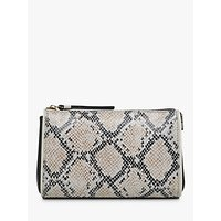 Radley Selby Street Snake Leather Medium Cosmetic Pouch, Multi