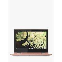 Lenovo C340-11 Chromebook, Intel Celeron, 4G RAM, 32GB eMMC, 11.6, Sand Pink