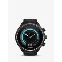 SUUNTO 9 Baro Titanium Smartwatch with GPS and Wrist-based Heart Rate Technology, Black/Red