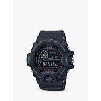 Casio GW-9400-1BER Men's G-Shock Rangeman Solar Chronograph Day Resin Strap Watch, Black