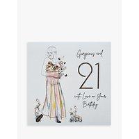 Five Dollar Shake Gorgeous 21st Birthday Card